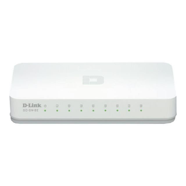 D-Link Switch 8 ports 100Mbps